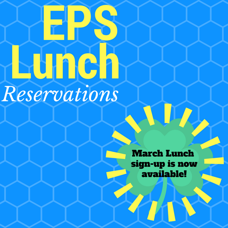 March Lunch Reservations