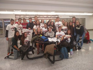 Spanish Exchange students visit EHS