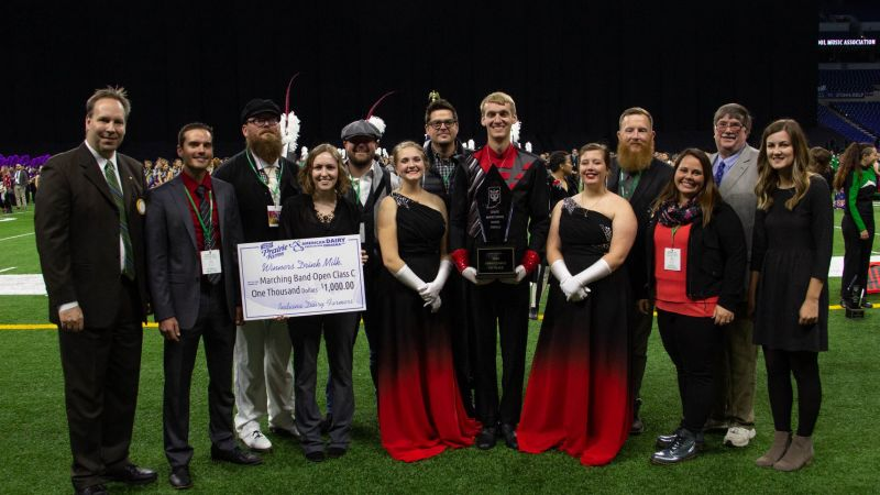 Edgewood Marching Mustangs take ISSMA Class C State Championship