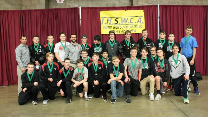 Edgewood Wrestling Placed 5th At Team State